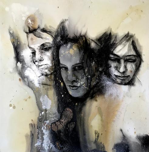 webo, 3 Frauen, Menschen: Frau, Menschen: Gruppe, Gegenwartskunst