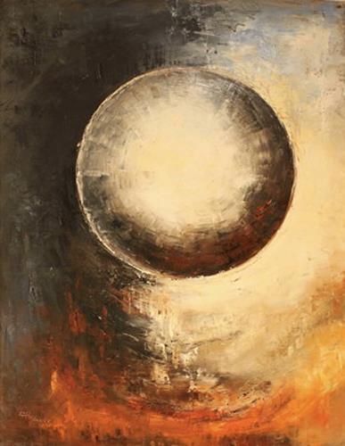 Heidrun von Haacke, Planet, Abstraktes, Impressionismus