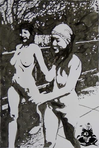 Klaus Ackerer, O/T, Akt/Erotik