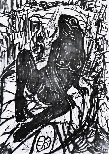 Klaus Ackerer, O/T, Fantasie, Abstrakte Kunst