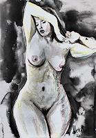 Klaus-Ackerer-Akt-Erotik-Akt-Frau-Moderne-Abstrakte-Kunst