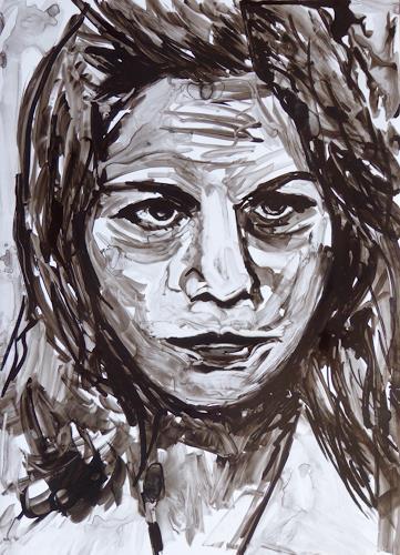 Klaus Ackerer, Nora, Menschen: Porträt, Abstrakte Kunst