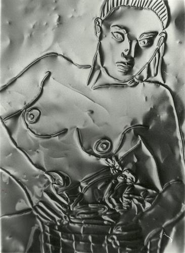 Klaus Ackerer, O/T, Akt/Erotik, Abstrakte Kunst
