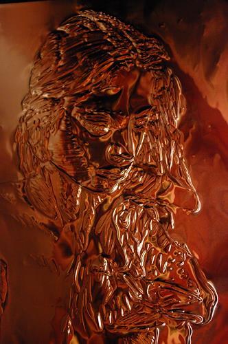 Klaus Ackerer, Who is jesus, Diverses, Abstrakte Kunst, Abstrakter Expressionismus