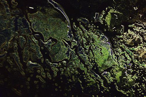 Klaus Ackerer, O/T, Abstraktes, Abstrakte Kunst