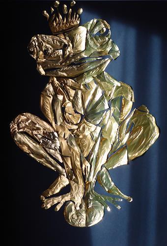 Klaus Ackerer, the golden kingfrog, Fantasie, Abstrakte Kunst