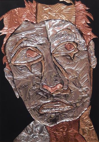 Klaus Ackerer, gracy people, i think, Menschen: Gesichter, Abstrakte Kunst