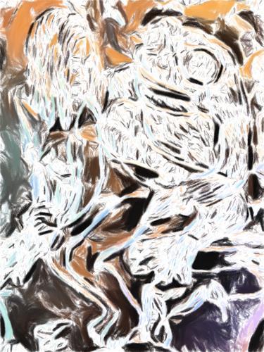 Klaus Ackerer, another frog woman, Abstraktes, Abstrakte Kunst