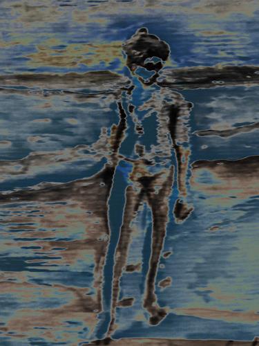 Klaus Ackerer, The moon, Fantasie, Abstrakte Kunst