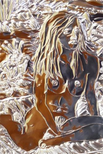 Klaus Ackerer, Eva Green`s garden eden, Fantasie, Abstrakte Kunst