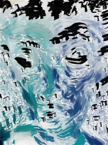 Klaus Ackerer, Gehirnwäsche, Fantasie, Abstrakte Kunst