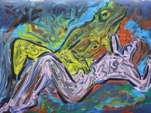 Klaus Ackerer, Spiel mit dem Feuer, Natur, Abstrakte Kunst