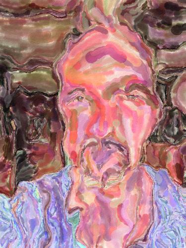Klaus Ackerer, Der Egotrip, Skurril, Abstrakte Kunst