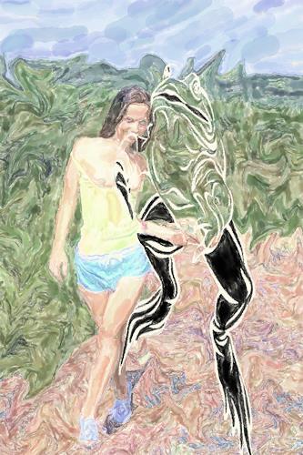 Klaus Ackerer, taste, Fantasie, Abstrakte Kunst