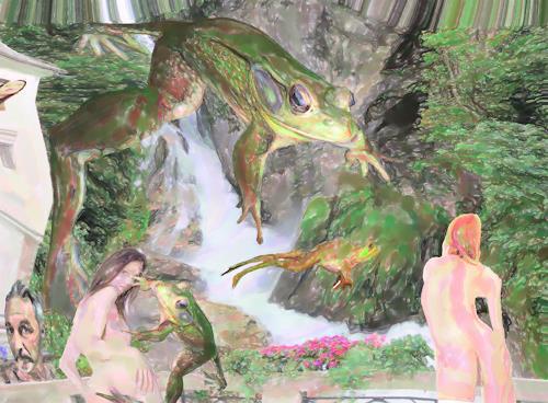 Klaus Ackerer, Was ist surreal , was ist real!, Fantasie, Abstrakte Kunst