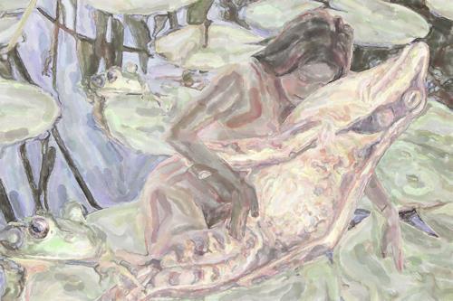 Klaus Ackerer, love, Akt/Erotik, Abstrakte Kunst