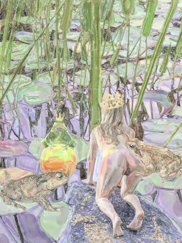 Klaus Ackerer, Die Suche, Natur, Abstrakte Kunst