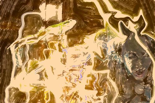 Klaus Ackerer, O7T, Fantasie, Abstrakte Kunst