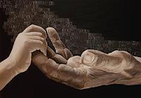 LUR-art--Therese-Lurvink-Gefuehle-Geborgenheit-Diverse-Menschen-Moderne-Abstrakte-Kunst