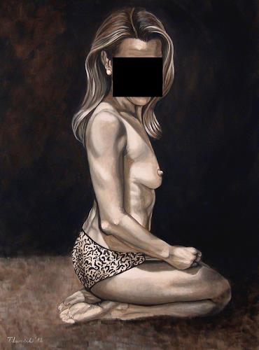 LUR-art/ Therese Lurvink, Akt, Akt/Erotik: Akt Frau, Menschen: Frau