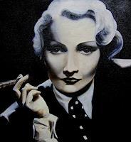 LUR-art/ Therese Lurvink, Marlene Dietrich