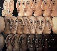 LUR-art--Therese-Lurvink-Diverse-Gefuehle-Menschen-Gesichter