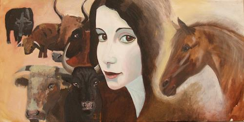 Wunderli Sabine, Fünf Stiere, Symbol