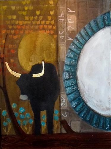 Wunderli Sabine, Der Stier aus dem Tor, Tiere: Land