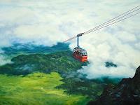 priyadarshi-gautam-Landschaft-Berge-Natur-Luft-Moderne-Impressionismus