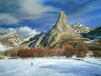 priyadarshi-gautam-Landschaft-Winter-Natur-Erde-Moderne-Impressionismus