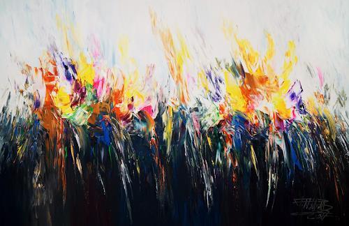 Peter Nottrott, Colour Experience XL 1, Abstraktes, Abstrakte Kunst