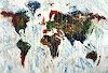 Peter Nottrott, Abstract World Map XL 2