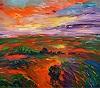 P. Nottrott, Landscape: Evening Mood XL 1