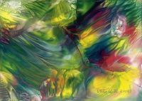 Ulrike-Kroell-Abstraktes-Pflanzen-Blumen-Moderne-Abstrakte-Kunst