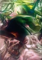 Ulrike-Kroell-Abstraktes-Romantik-Sonnenaufgang-Moderne-Abstrakte-Kunst