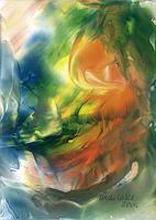 Ulrike-Kroell-Abstraktes-Landschaft-See-Meer-Moderne-Abstrakte-Kunst