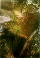 Ulrike-Kroell-Landschaft-Herbst-Natur-Wald-Moderne-Abstrakte-Kunst