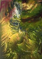 Ulrike-Kroell-Landschaft-Tropisch-Fantasie-Moderne-Moderne