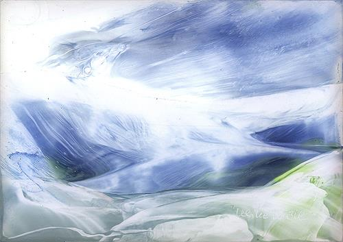 Ulrike Kröll, Gletscher - Impressionen, Landschaft: See/Meer, Landschaft: Winter, Moderne