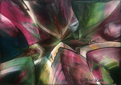 Ulrike Kröll, Kristalle I, Fantasie, Dekoratives, Moderne
