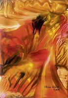 Ulrike-Kroell-Bewegung-Natur-Feuer-Moderne-Abstrakte-Kunst