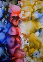 Ulrike-Kroell-Pflanzen-Blumen-Dekoratives-Moderne-Abstrakte-Kunst
