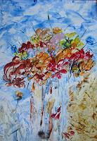 Ulrike-Kroell-Pflanzen-Blumen-Stilleben-Gegenwartskunst-Gegenwartskunst
