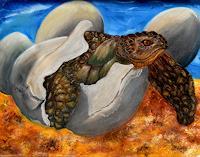 Ulrike-Kroell-Tiere-Wasser-Tiere-Land-Gegenwartskunst-Gegenwartskunst