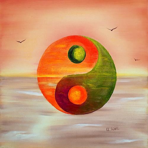 Ulrike Kröll, Yin und Yang, Symbol, Diverse Wohnen, Gegenwartskunst
