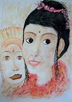 Ulrike-Kroell-Menschen-Frau-Menschen-Gesichter-Gegenwartskunst-Gegenwartskunst