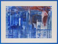Ulrike-Kroell-Romantik-Sonnenuntergang-Dekoratives-Gegenwartskunst-Gegenwartskunst