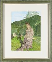 Ulrike-Kroell-Natur-Wald-Landschaft-Fruehling-Gegenwartskunst-Gegenwartskunst