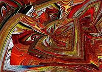 Ulrike-Kroell-Diverse-Weltraum-Bewegung-Moderne-Abstrakte-Kunst