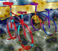 Ulrike-Kroell-Dekoratives-Verkehr-Fahrrad-Moderne-Moderne